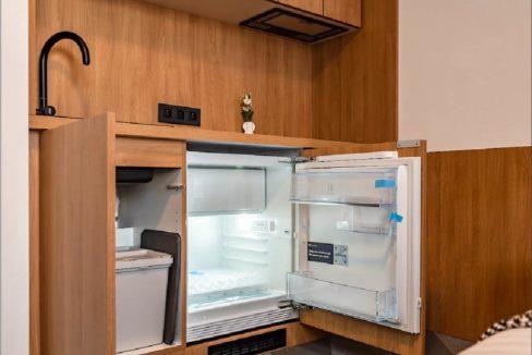 Studio Luxembourg-Belair a louer cuisine