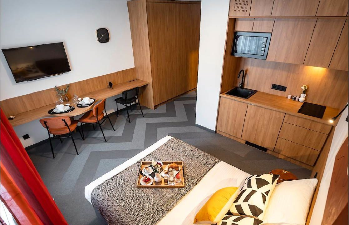 Studio Luxembourg-Belair a louer chambre