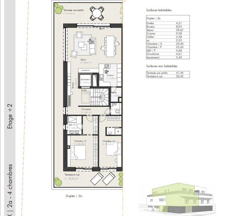 C-Immo Façades Etage 2 Duplex A Hemingway Luxembourg