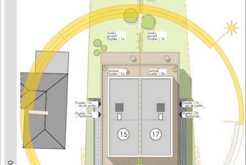 C-Immo Implantation résidence Hemingway Luxembourg