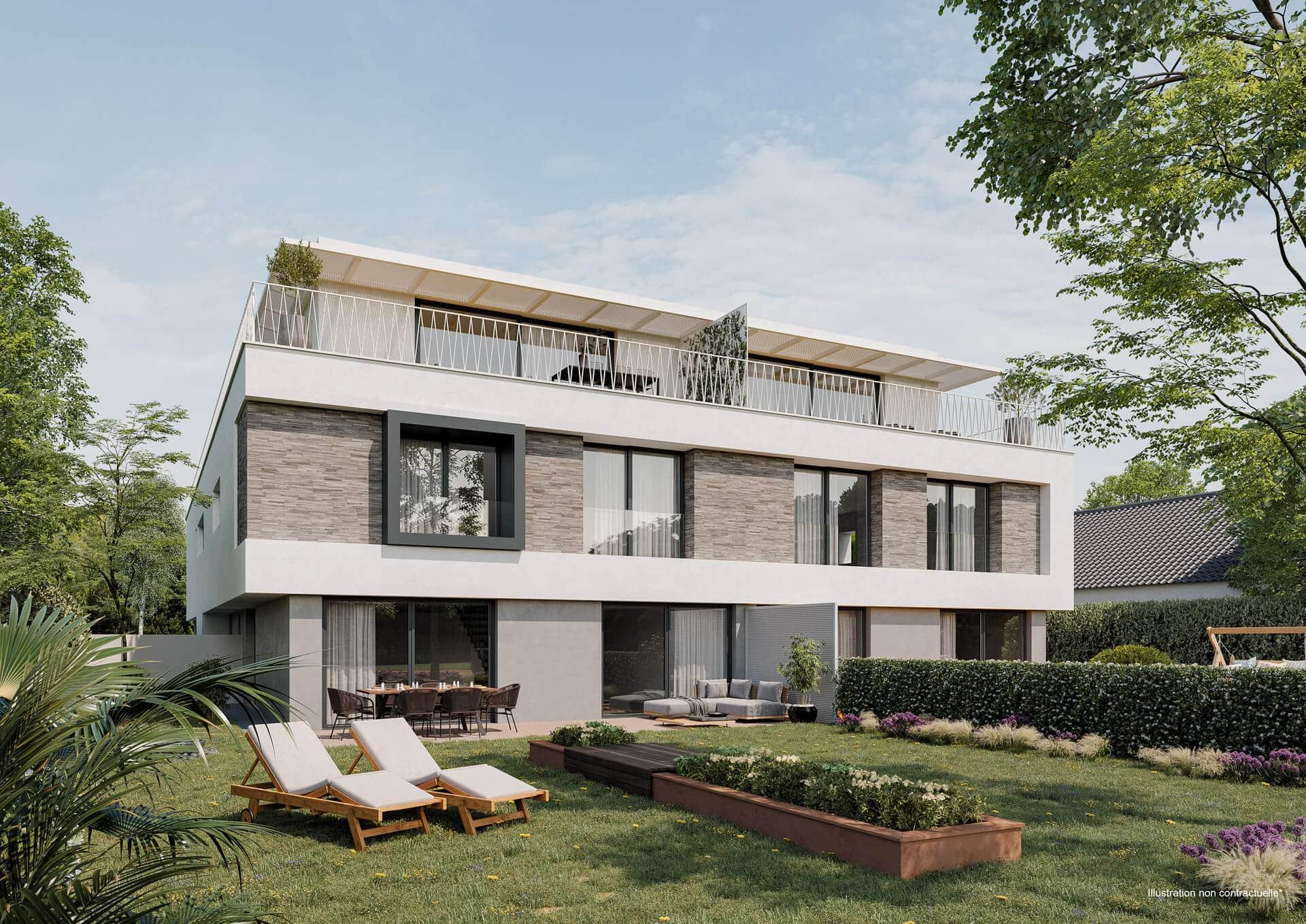 Superbe Penthouse/Duplex à vendre à NIEDERANVEN 2B