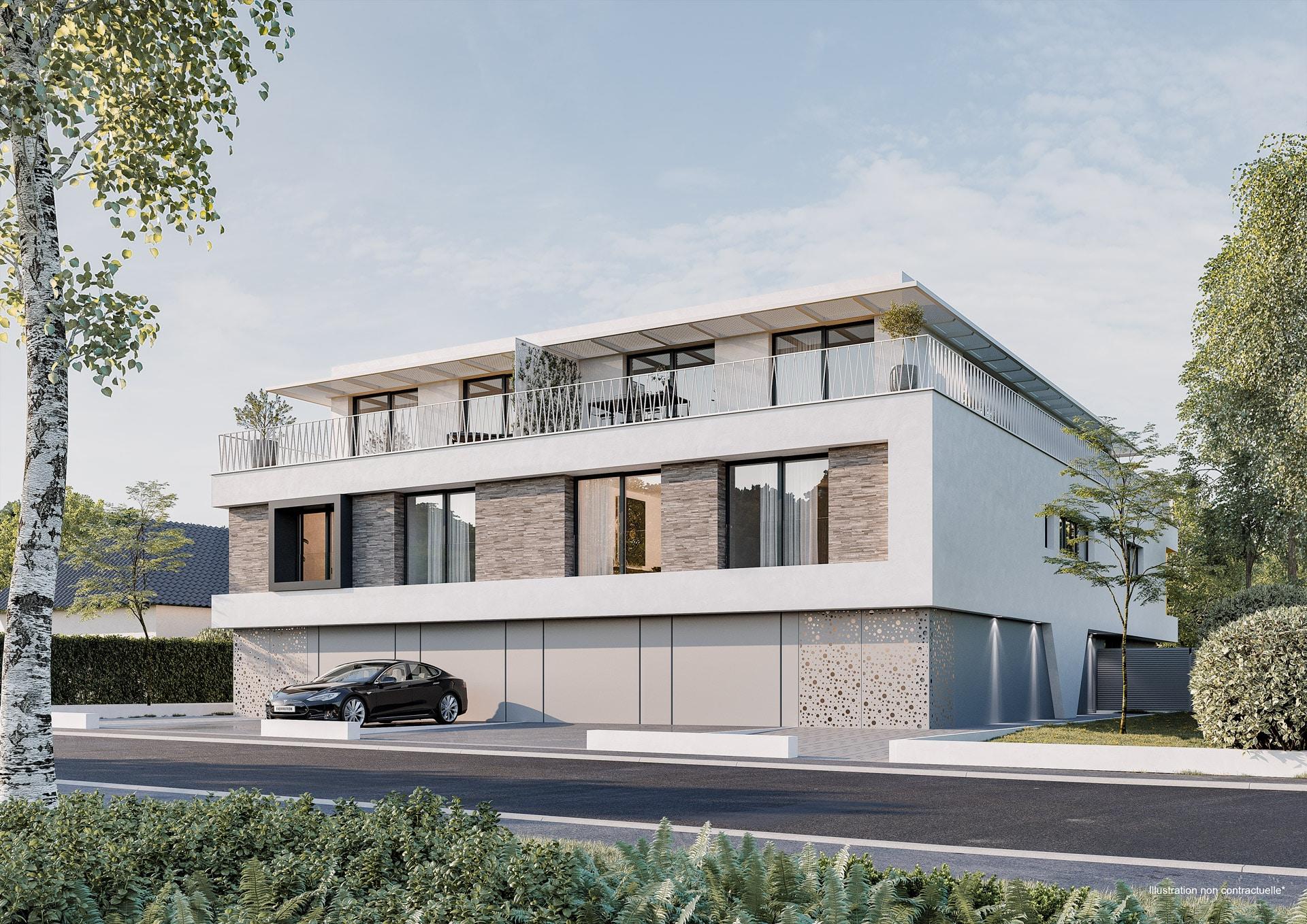 Superbe Penthouse/Duplex à vendre à NIEDERANVEN 2A